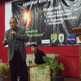 Seminar dan Workshop Entrepreneur 2013 HMPS SI Unisbank